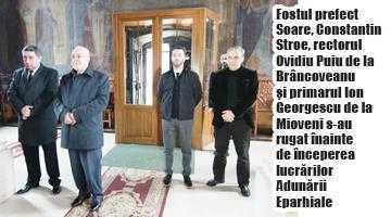 Stroe şi Badea, cooptaţi de Calinic în Adunarea Eparhială 5