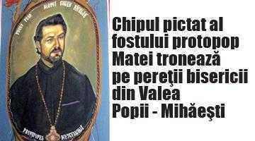Mazilit de conducerea Arhiepiscopiei pentru o gaură de 5,2 miliarde, fostul protopop Matei s-a autoexilat la biserica unde şi-a pictat chipul pe pereţi 3