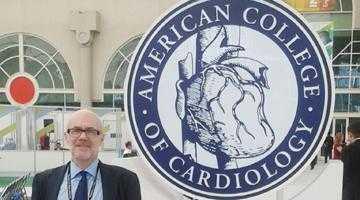 Medicul Adrian Tase a participat  la lucrările Colegiului de Cardiologie American desfăşurat la San Diego 5