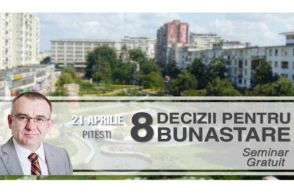 """Seminar gratuit """"8 decizii pentru bunăstare"""" 5"""