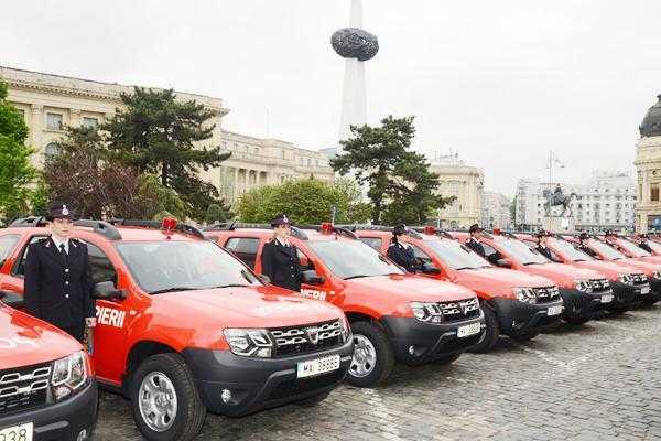 Ministerul Afacerilor Interne a predat 156 de autospeciale Dacia Duster inspectoratelor pentru situații de urgență 4
