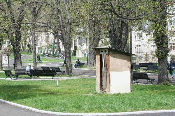 Deşi proiectul de reabilitare are finanţare europeană, Câmpulungul îşi repară parcurile cu bani de la bugetul local 6