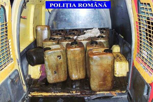 Doi tineri din Merișani au furat 540 de litri de țiței 6