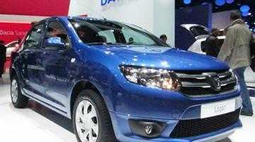 Înmatriculările Dacia au scăzut dramatic în Franţa 3