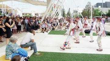 Taraful şi căluşarii de la Doina Bascovului au fost mândria României la Expoziţia Universală de la Milano 5