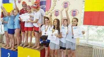 CS Dacia Mioveni 2012 a obţinut la înot prima medalie la o competiţie oficială de obiectiv 5