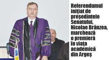 Pe 24 iulie, referendum privind modalitatea de alegere a rectorului Universităţii Piteşti 5