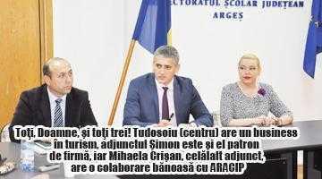 Şeful ISJ Argeş şi inspectorul de management sunt asociaţi într-o agenţie de turism 6