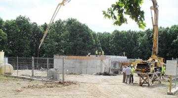 La Moşoaia se construieşte una dintre cele mai mari şi moderne staţii de înmagazinare a apei din judeţ 5