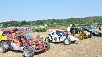 La Mioveni au fost incinse motoarele în cadrul Campionatului Naţional de Rallycross! 5