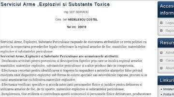 Costel Nedelescu e şi adjunct al Poliţiei şi şef la Arme şi Muniţii. Doar online 7