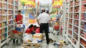 O vizită la cumpărături  în Auchan Bradu se putea termina cu o tragedie 4