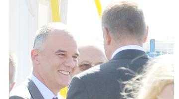 """Iohannis i-a mai ridicat moralul lui Armani: """"Iani, mă bazez pe tine la Argeş!"""" 2"""