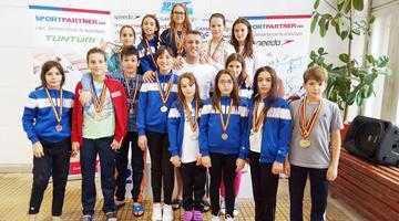 Înotătorii de la CS Dacia Mioveni 2012 au cucerit 14 medalii la Sfântu Gheorghe 5
