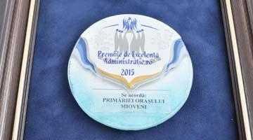 Primăria Mioveni, recompensată la Gala Premiilor de Excelenţă în Administraţie 7