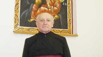 Profesorul preot Dumitru Radu, prorectorul Institutului Teologic de Grad Universitar din Bucureşti 5