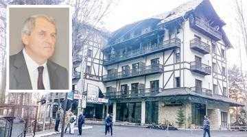 Magnatul Gheorghe Badea îşi programase Revelionul chiar la Posada-Vidraru, hotelul distrus de flăcări înainte de Crăciun 6