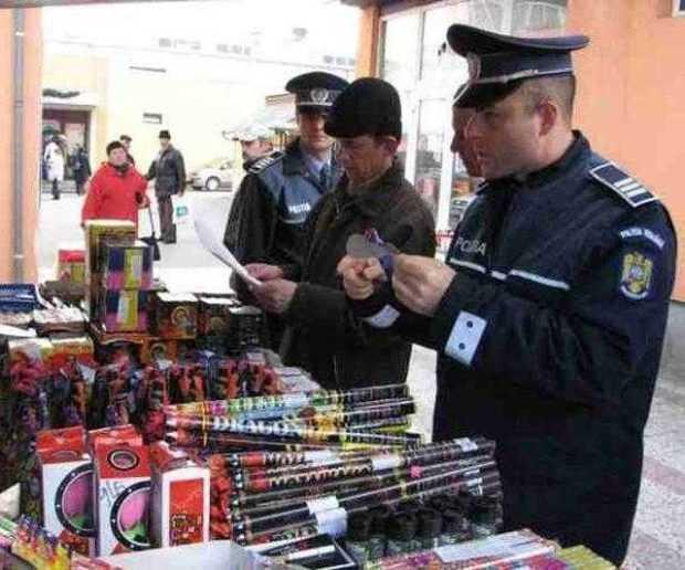 Perchiziții în Argeș la persoane care au cumpărat articole pirotehnice 6