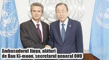 """Ion Jinga: """"12% din personalul  de protecţie ONU e format din români"""" 3"""