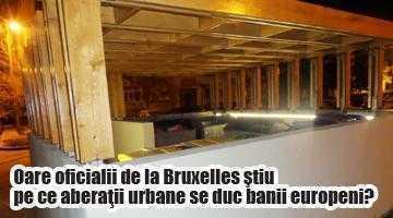 Peste cinci miliarde de lei vechi cheltuiţi din fonduri europene ca să se pună lemn de stejar la pubelele de gunoi şi becuri sub bănci! 6