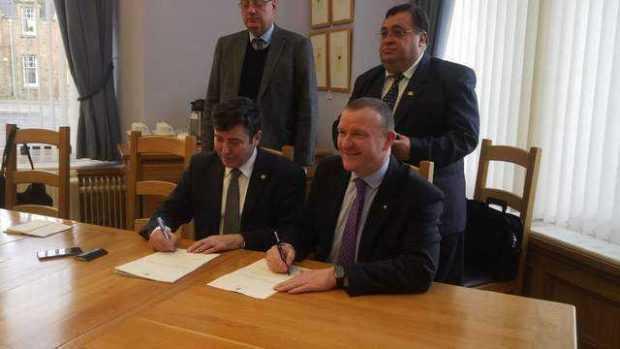 Trei parlamentari scoţieni vor sprijini colaborarea dintre Consiliul Judeţean Argeş şi Consiliul Regional Inverness 5