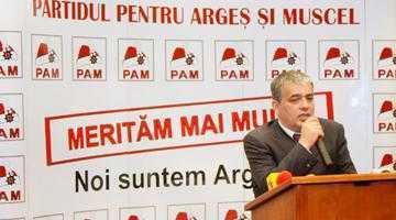 Mircea Andrei dă şah PSD-ului. L-a adus în PAM pe edilul de Curtea de Argeş, iar el va candida pentru Primăria Piteşti 5