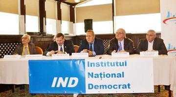 Deputatul Mihai Deaconu a participat la lansarea Institutului Naţional Democrat 4