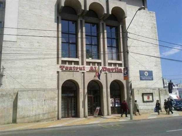 Angajaţii Teatrului Davila cer înlăturarea fiului consilierului judeţean Diaconescu de la conducerea secţiei estradă 5