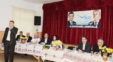 Deputatul ALDE, Andrei Gerea, a fost prezent la lansarea candidaturii lui Nicolae Pană la Primăria Coşeşti 5