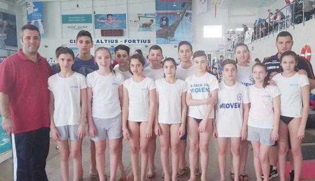 13 înotători din Mioveni - la Campionatele Naţionale 5