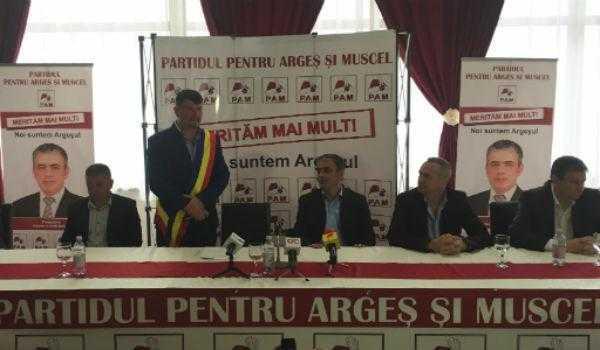 Președintele PAM, Mircea Andrei, l-a lansat pe Florin Frătică într-o nouă cursă pentru Primăria Bradu 5