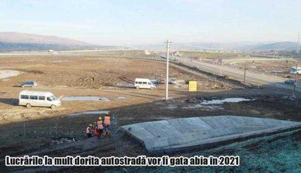 Ministrul Transporturilor vrea devansarea termenelor de finalizare la autostrada Piteşti - Sibiu 5
