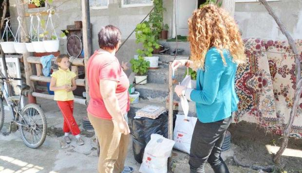 7 familii din Mioveni au avut un Paşte mai bogat 7