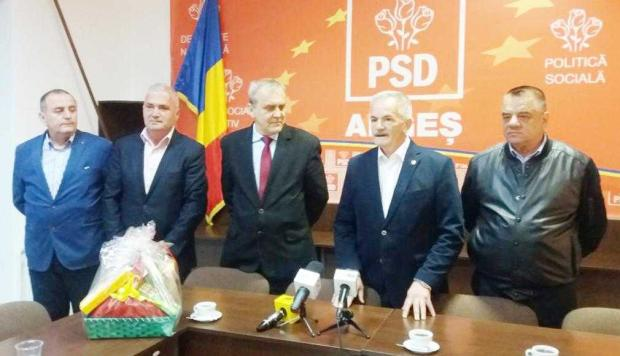 Întâlnire festivă de Paşte a PSD Argeş cu ziariştii 2