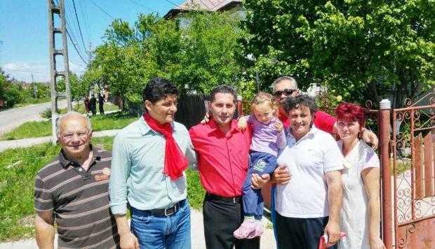 Belodedici, Bumbescu şi Majearu au venit să-l susţină pe Dan Stroe la primărie 6