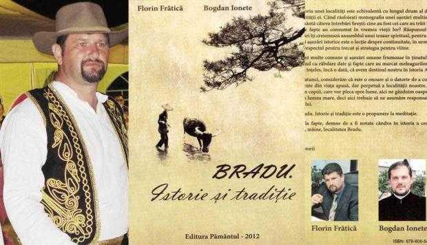 Primarul Frătică de la Bradu a devenit şi autor de... cărţi 4