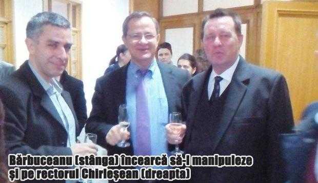 Liderul sindical Mircea Bărbuceanu îl somează pe noul rector al UPIT să îl toarne la DNA pe fostul rector 3