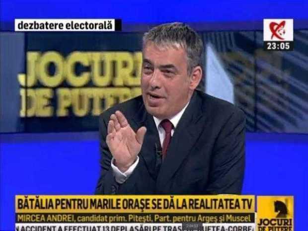 Schimb de replici savuros între Rareş Bogdan şi Mircea Andrei la Realitatea TV 6