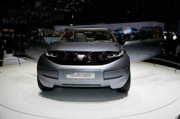 Duster cosmic prezentat de Dacia la Salonul de la Geneva 6