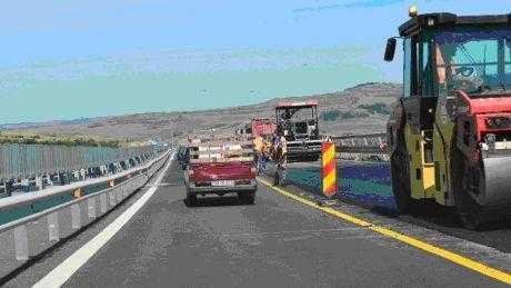 Restricționarea traficului pe autostrada Pitești-București 5