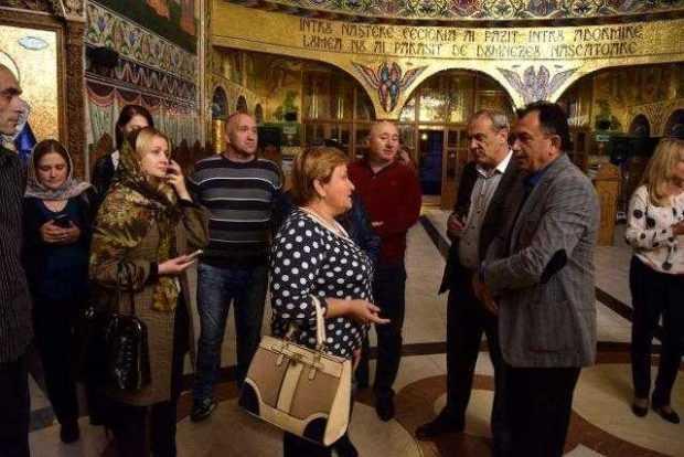 Delegaţie din Basarabia, în Mioveni 7