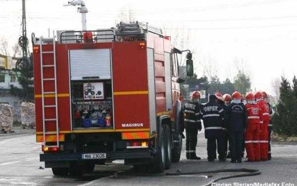 Pericol de explozie în urma unui accident rutier la Oarja 5