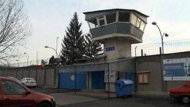 Protest al angajaților din Penitenciarul Colibași 6