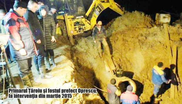 Risc extrem la Câmpulung: rezerva de apă nu este finalizată, bani pentru înlocuirea conductei magistrale nu există 3
