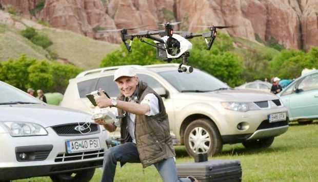 Filmări de 32.000 lei  cu drona, plătite de Consiliul Judeţean, dar fără sigla CJ 5