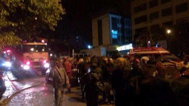 Incendiu puternic la blocul Mobilux din Centru. 40 de persoane  au fost evacuate 5