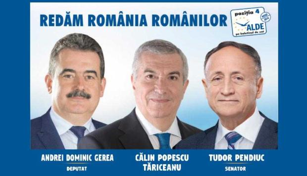Călin Popescu Tăriceanu, vicepreşedinte ALDE:  Andrei Gerea şi Tudor Pendiuc vor fi câştiguri ale Argeşului în Parlament 3