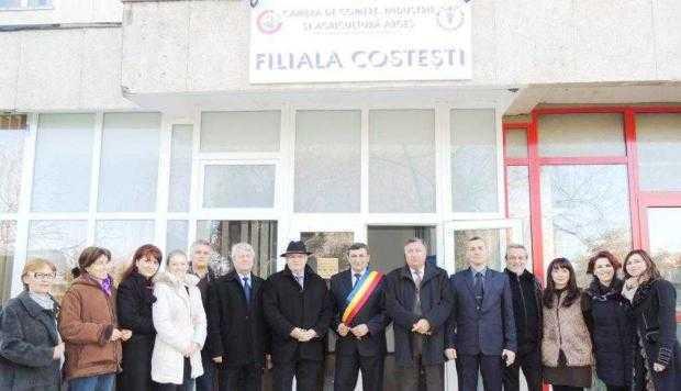 Camera de Comerţ, Industrie şi Agricultură Argeş  şi-a deschis filială la Costeşti 3