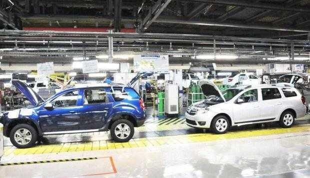 Dacia închide anul în scădere cu 4,5% 4