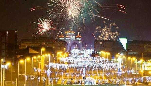 Foc de artificii spectaculos în noaptea dintre ani, la Mioveni 6